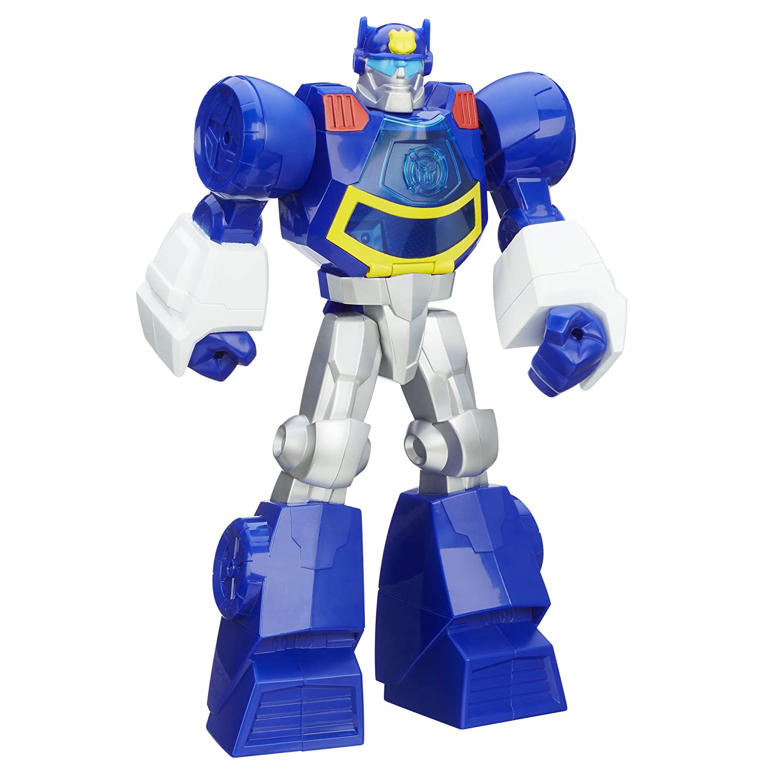 PLAYSKOOL TRANSFORMERS RESCUE BOTS CHASE THE POLICE-BOT FIGURE RESCUE by TRANSFORMERS RESCUE FIGURE BOTS fcda92