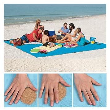 Amazon.com: Psampa - Manta de playa y esterilla de arena, a ...