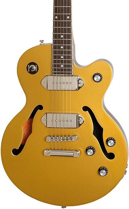 Edición limitada Epiphone wildkat Studio guitarra eléctrica de color Dorado Metálico