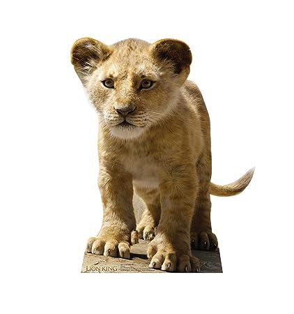 Amazoncom Advanced Graphics Young Simba Life Size