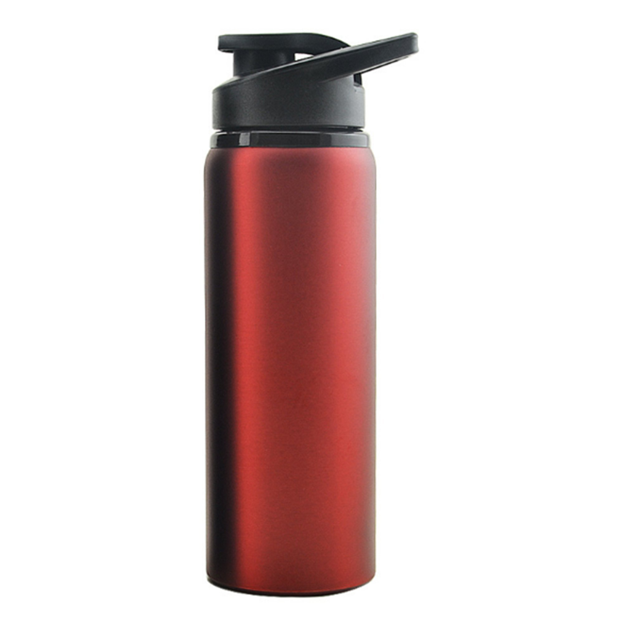 NOMSOCR Double Wall Vacuum Insulated Stainless Steel Coffee Travel Mug with Flip Open Lid, Resistant to stains and odors, Water Bottle for Women Men (Red, 24-Ounce)