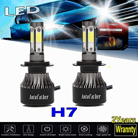 COB H13 9008 20000LM 200W LED Headlight Kit Hi//Lo Beam Fog Lamp Bulbs 6000K E