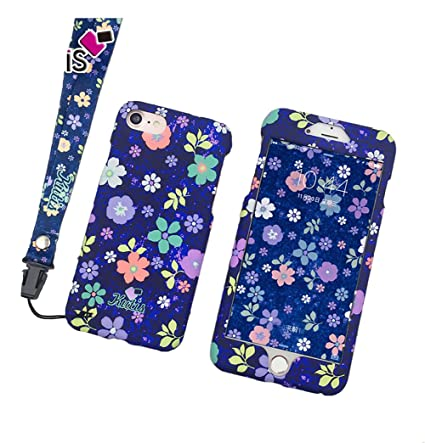 Amazon.com: bbeart iPhone 7 Caso, moda dulce flor luminoso ...
