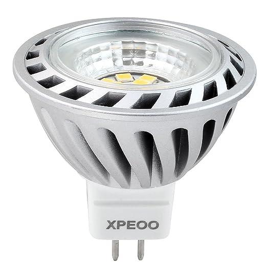 Xpeoo® 6W MR16 GU5.3 LED Bombilla Lámpara Igual a Halógena de 50W 520lm
