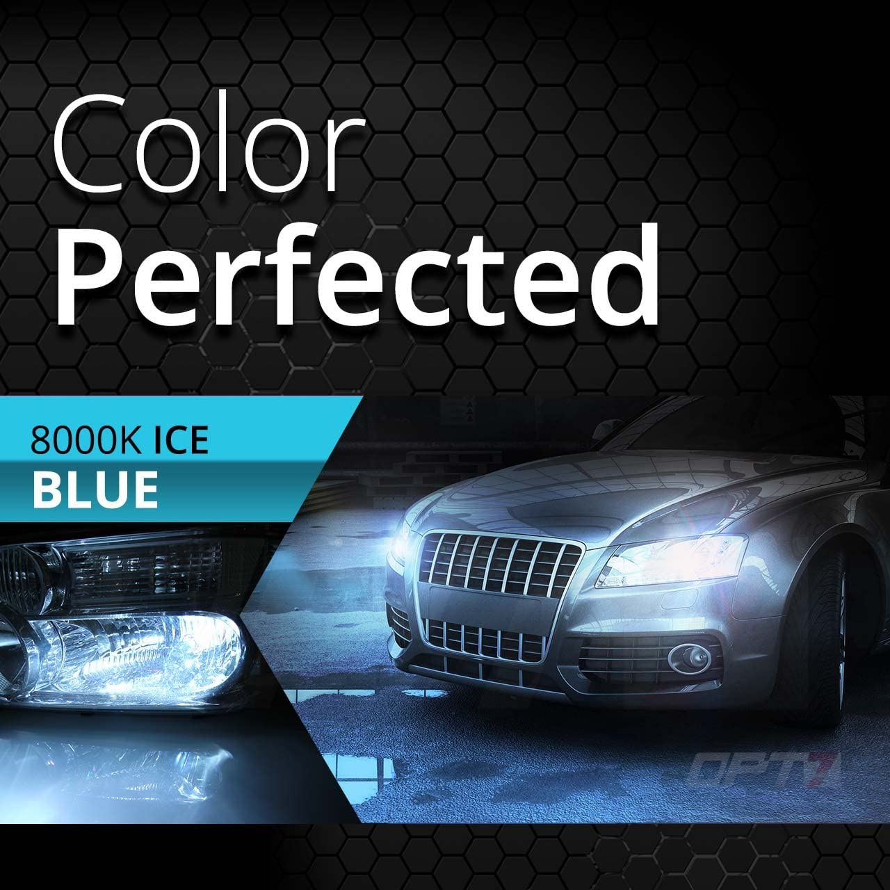 5000K Pure White 2 Yr Warranty 5x Brighter 6x Longer Life OPT7 Bolt AC 55w H1 High Beam HID Kit All Bulb Colors and Sizes Xenon Light