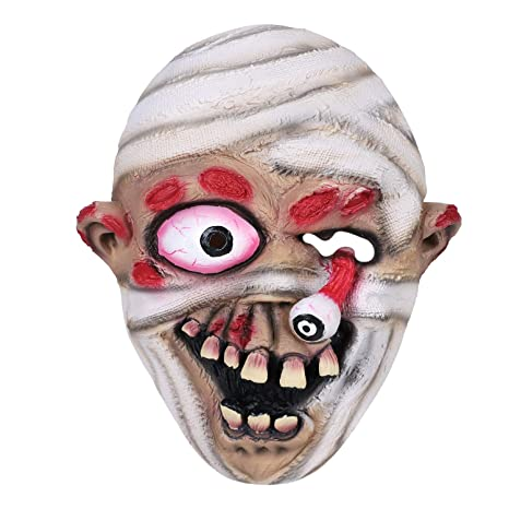 Adults Halloween Fancy Dress Party Scary Horror Scream Bleeding Face Mask UK