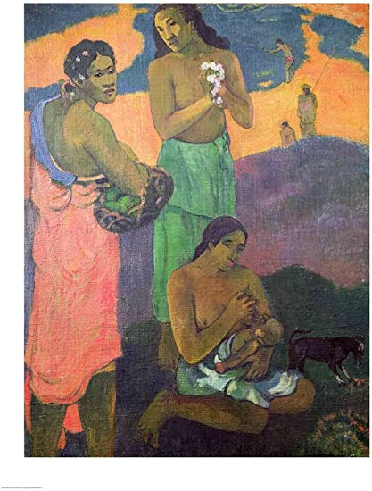 Twenty-Four Paul Gauguins Paintings (Collection) for Kids