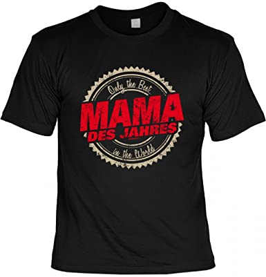 rohuf Design T-Shirt Mutter Mami - Only The Best - Mama Des Jahres -