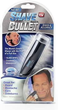 Shave Bullet – La exclusiva Afeitadora Compacta, Impermeable ...