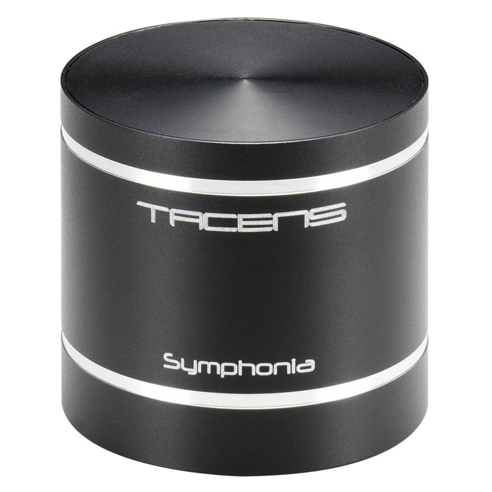 Tacens Symphonia - Altavoz portátil (Bluetooth, bajos potentes, lector de tarjetas SD, batería de larga duración, MP3, USB), negro 6SYMPHONIA cable graves inalambrico