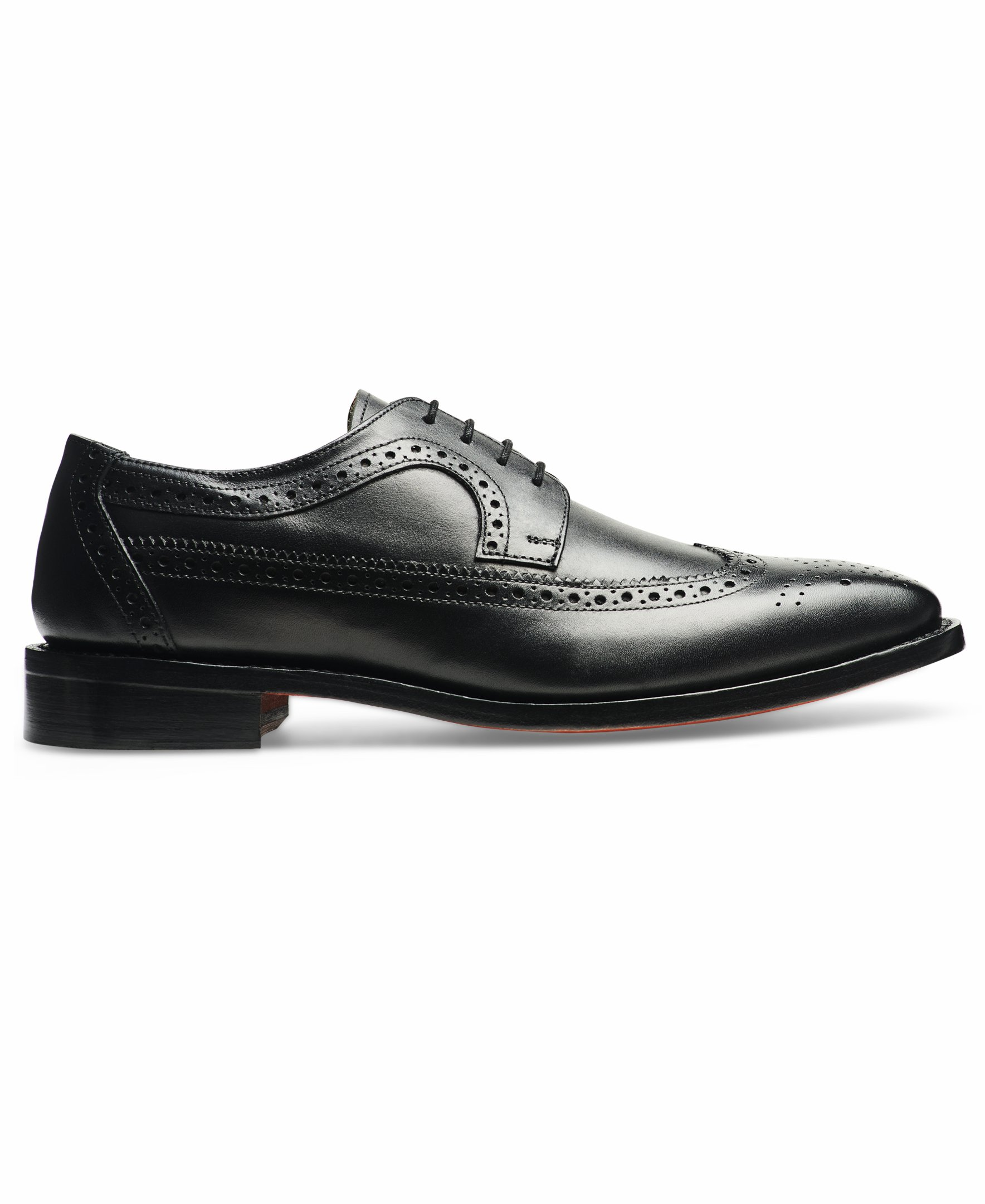 Anthony Veer Mens Regan Oxford Full Brogue Leather Shoes in Goodyear Welted Construction (8.5 D, Black) by Anthony Veer (Image #2)
