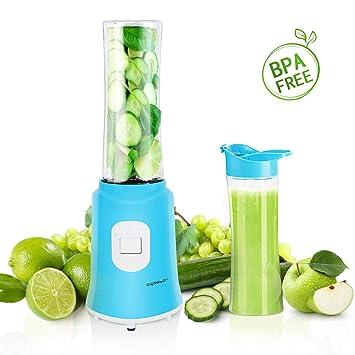 Aigostar Sky 30IWX - Batidora de vaso portátil para smoothies, batidos y picadora de frutas.