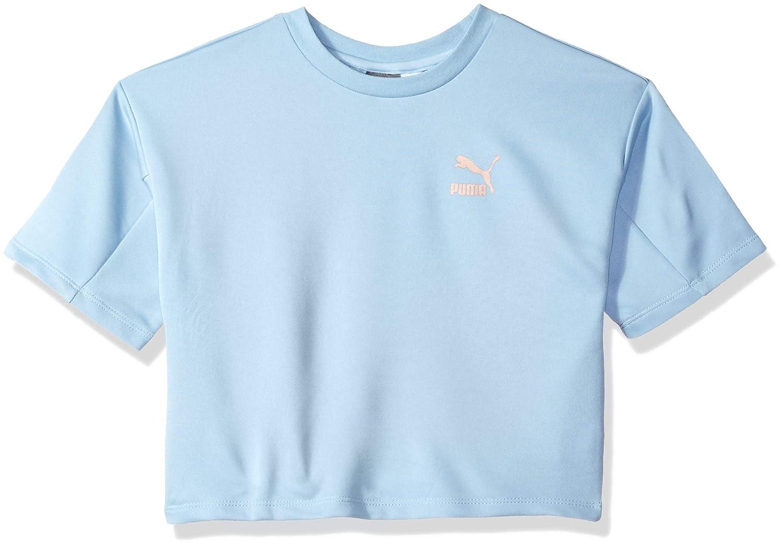 watch f3c22 2ad4f PUMA Girls Girls' Retro Sport Crop Top T-Shirt: Amazon.ca ...