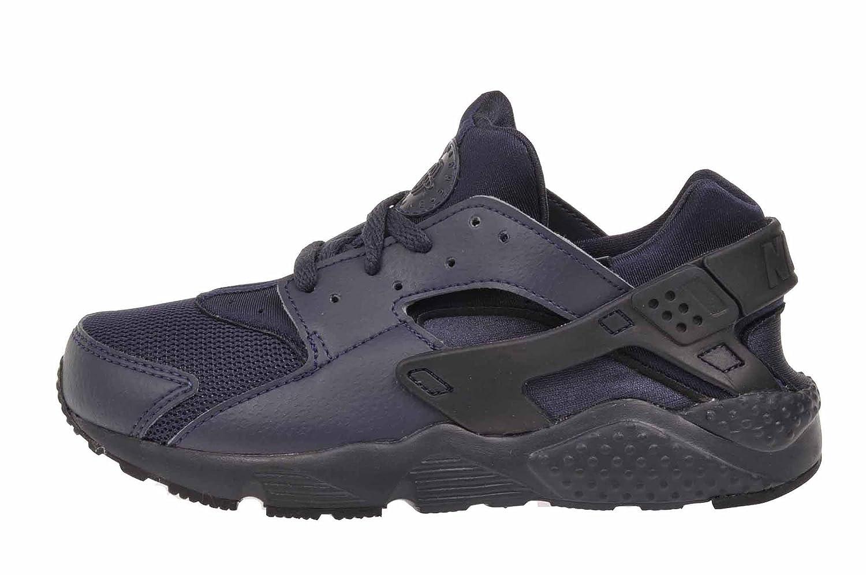 Details zu NIKE HUARACHE RUN (PS) Kinder Jungen Black Sneaker Turnschuhe Neu 704949 403