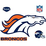 Fathead Denver Broncos Logo Wall Decal