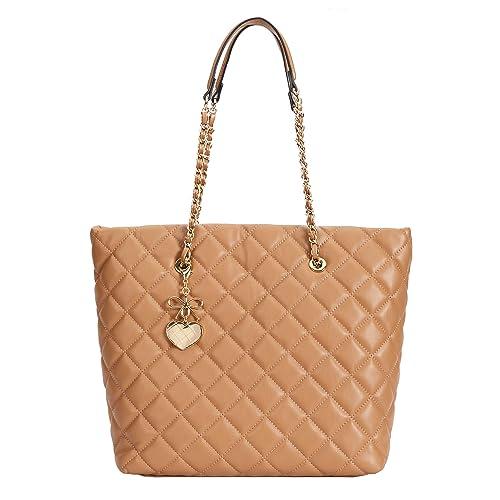 d80cc50111484 Parfois - Michelle Shopper - Women - Size L - Camel  Amazon.co.uk ...