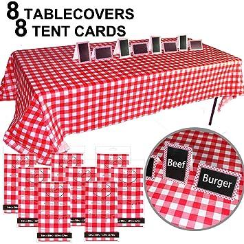 Amazon Com Jalousie Value Bundle Table Covers Party Decoration 8