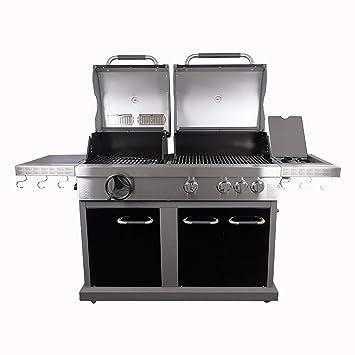 Jamie Oliver Barbacoa de gas (Dual Fuel Pro 4, de gas y carbón vegetal