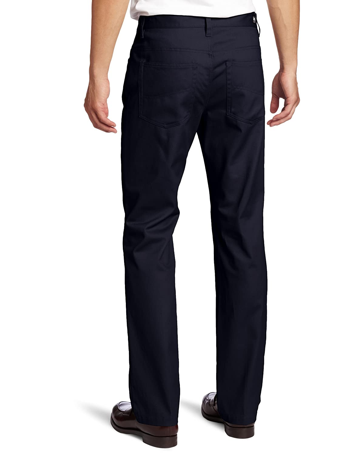 Lee Uniforms Mens Slim Straight 5 Pocket Pant