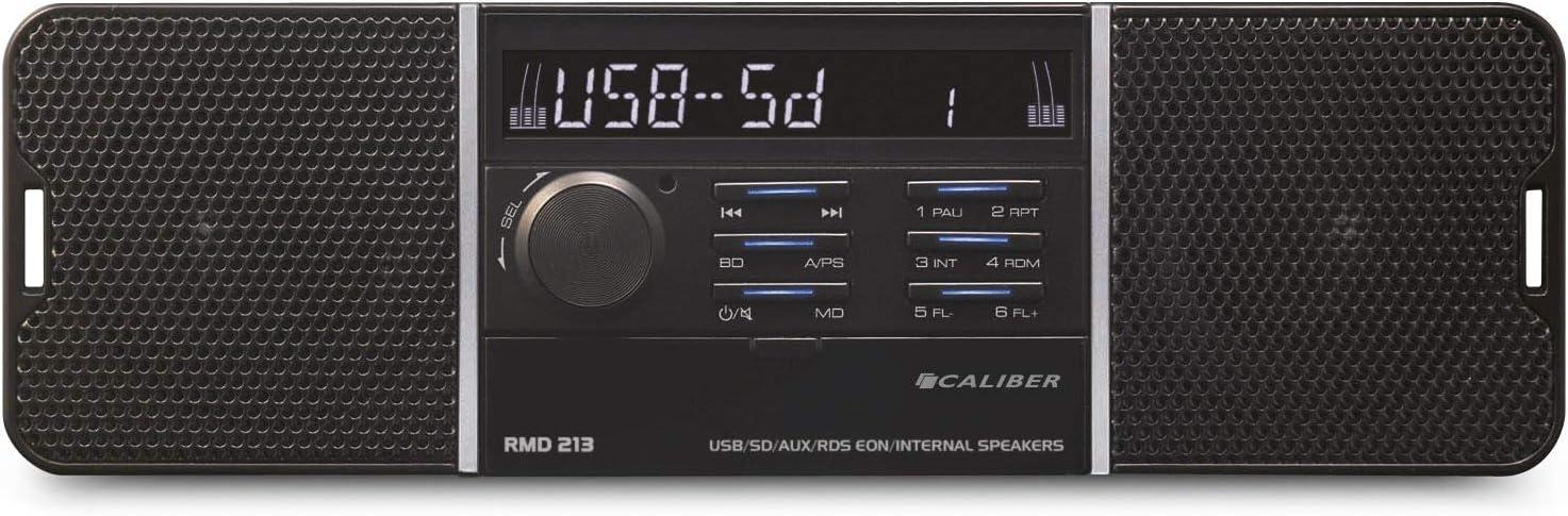 Caliber Rmd 213 Usb Sd Aux Autoradio Mit Eingebauten Lautsprecher Ohne Cd Elektronik