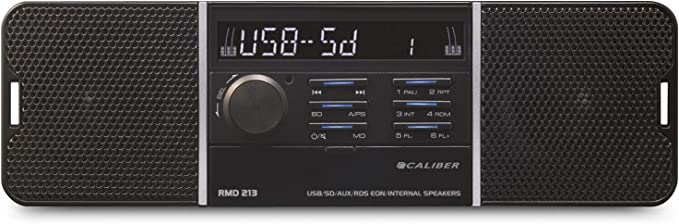 Caliber Rmd 213 Usb Sd Aux Car Radio With Built In Speakers Without Cd Elektronik