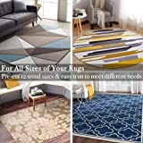 Rose Home Fashion RHF Non-Slip Area Rug Pad 2'x8' - Rug pad for Runner- Protect Floors While Securing Rug and Making Vacuuming Easier 2x8