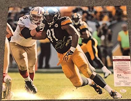 Stephon Tuitt Autographed Signed Pittsburgh Steelers 16x20 Photo - JSA  Authentic cca09db91