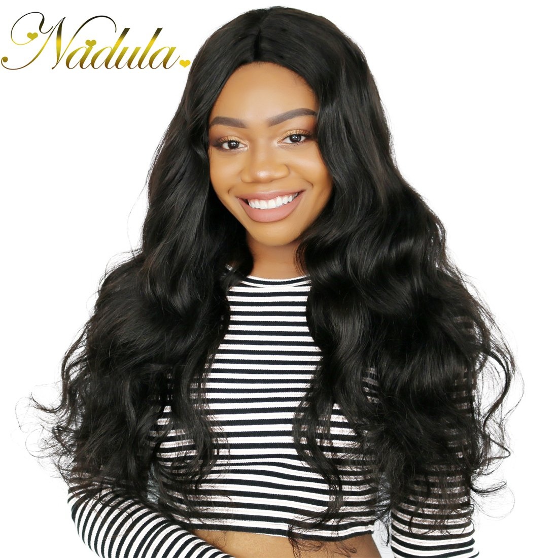 Nadula Hair 7a Best Quality Brazilian Body Wave Virgin Hair Extensions 3 Bundles 18 20 22 Brazilian Wavy Unprocessed Human Hair Weave Natural Color by Nadula (Image #7)