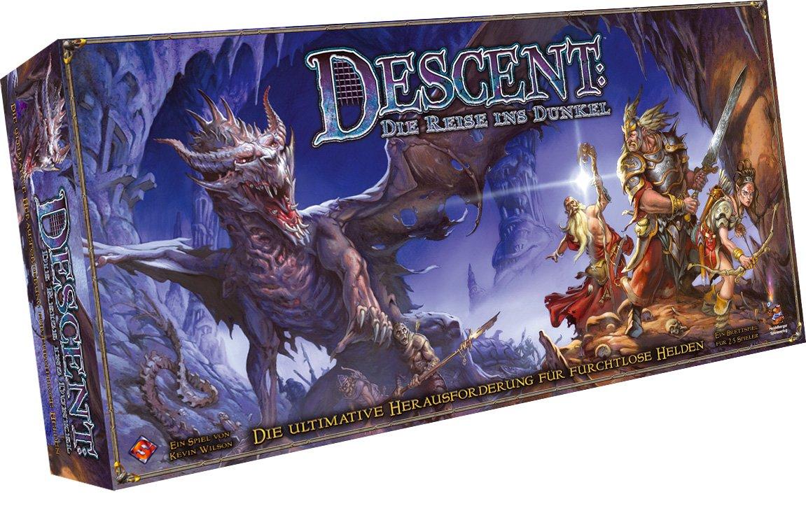 Heidelberger Spieleverlag HEI0VA11 - Descent: Reisen ins Dunkle, deutsche Ausgabe