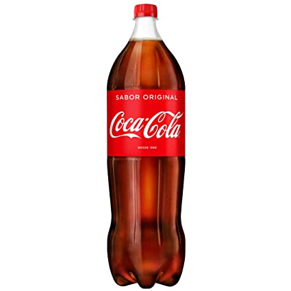 Coca-Cola - Regular, Refresco con gas de cola, 2.2 l, Botella de ...