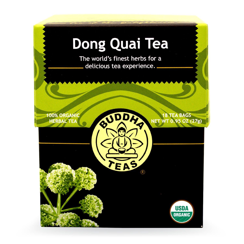 Buddha Teas Dong Quai Tea, 18 Count (Pack of 6)