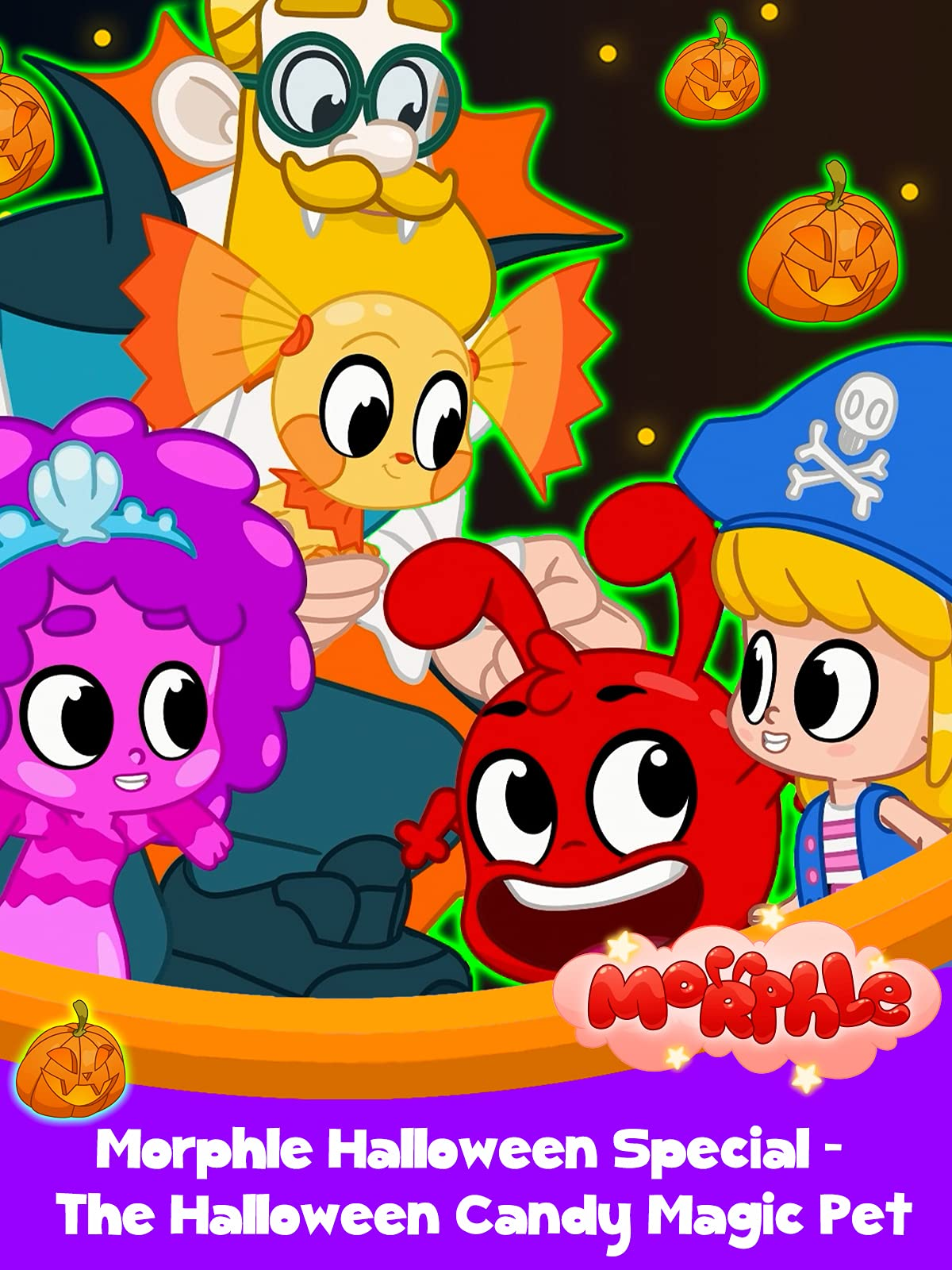 Morphle Halloween Special - The Halloween Candy Magic Pet