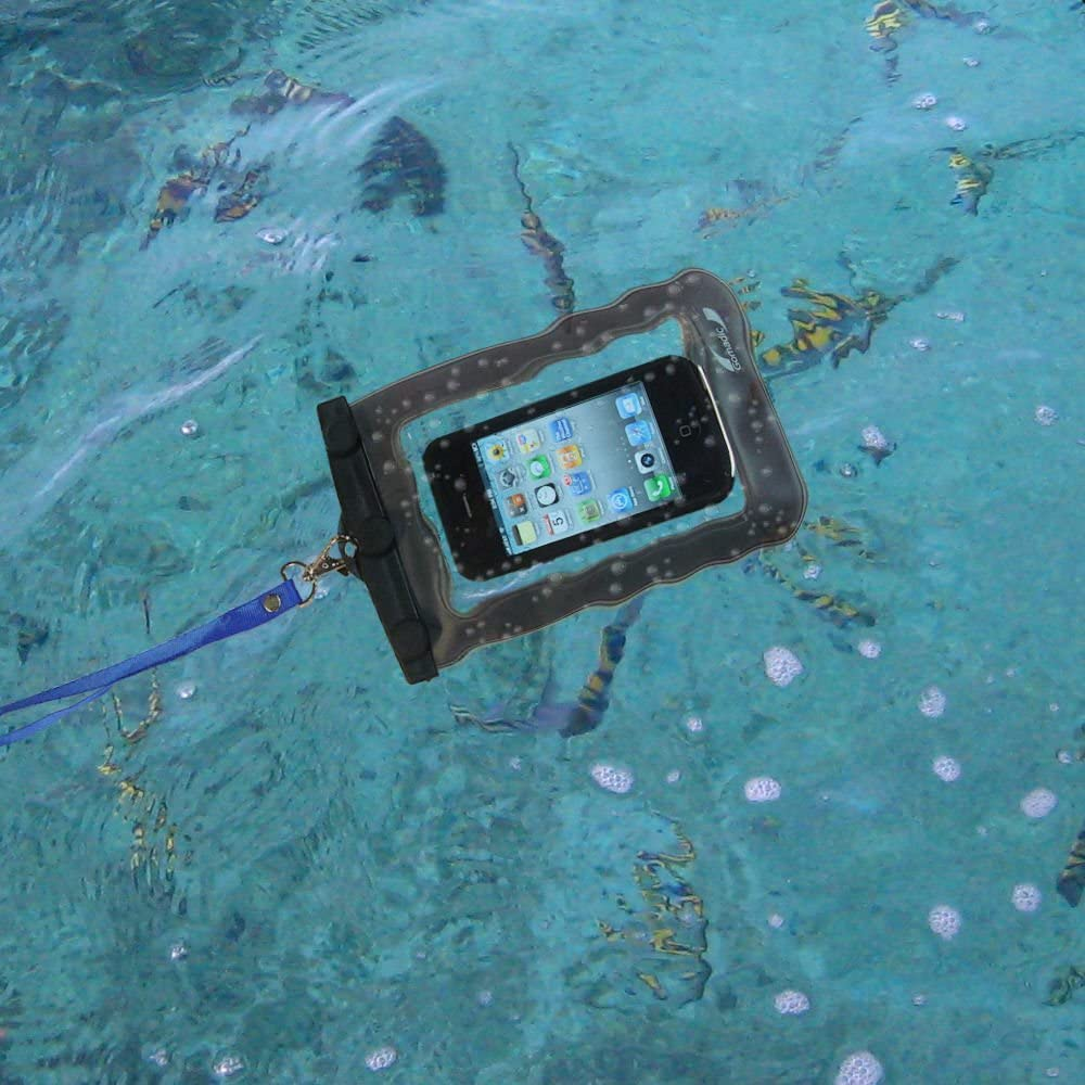 Gomadic Outdoor Waterproof Carrying case Suitable for The HTC Desire Z to use Underwater - Keeps Device Clean and Dry