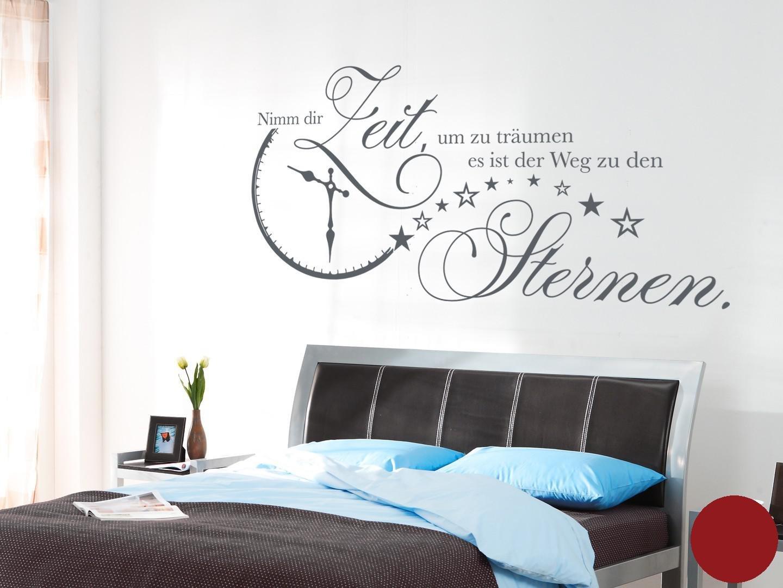 Klebefieber Wandtattoo Nimm Dir Zeit B x H  140cm x 70cm Farbe  Dunkelgrau B071959G6S Wandtattoos & Wandbilder