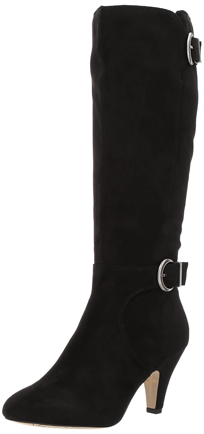 Bella Vita Women's Toni Ii Harness Boot B06ZXYQ8PY 8.5 N US|Black Super Suede