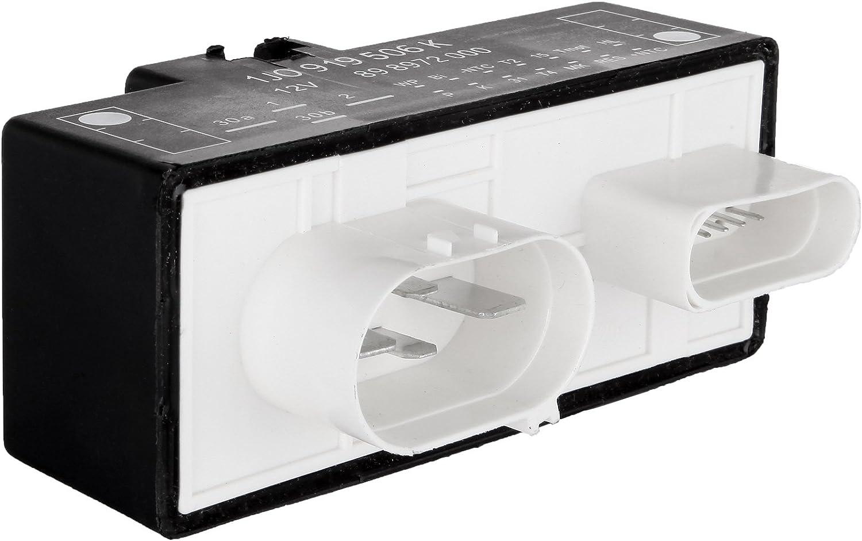 LUJUNTEC Cooling Fan Control Unit Module Relay 1J0919506K Fit for 2000-2006 Audi TT //2000-2006 Audi TT Quattro //2000-2008 Volkswagen Beetle //2000-2006 Volkswagen Golf//Volkswagen Jetta