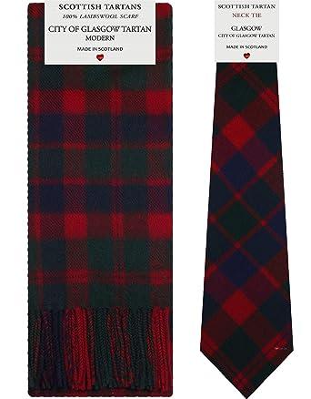 I Luv LTD Conjunto de regalo de bufanda y corbata de lana de ...