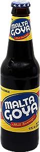 Goya Foods Malta Malt Beverage Non-Alcoholic, 12 Ounce (Pack of 24)