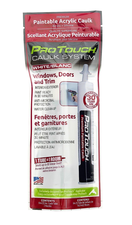 ProTouch 9032 Paintable Acrylic Caulk Windows, Doors & Trim, White/Blanc_Silicone
