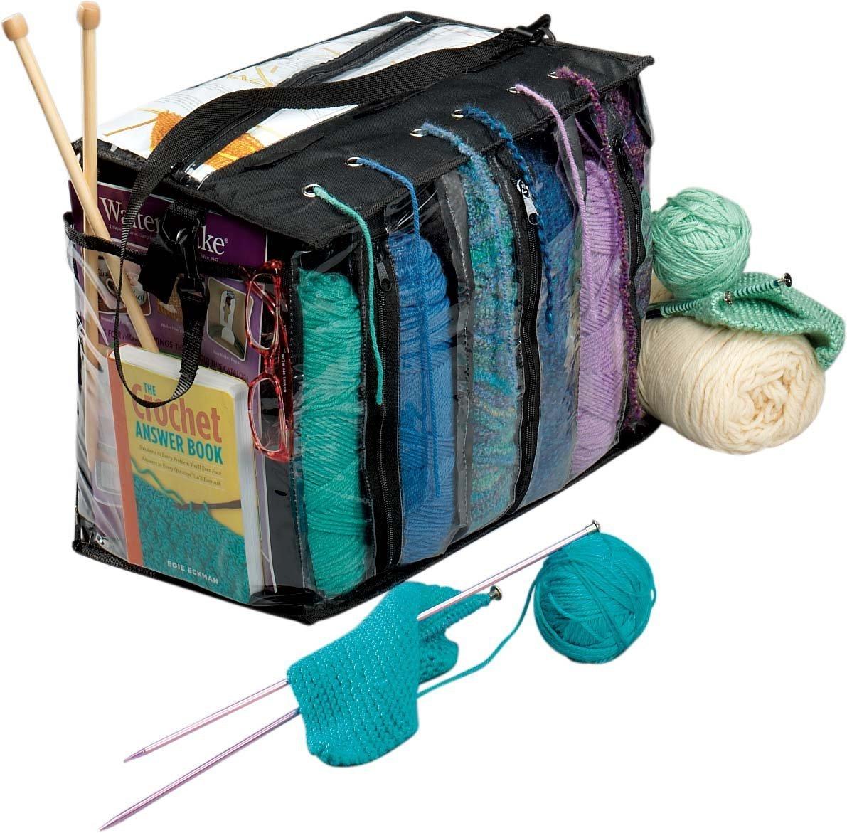 Trenton Gifts Portable Yarn Tote Organizer