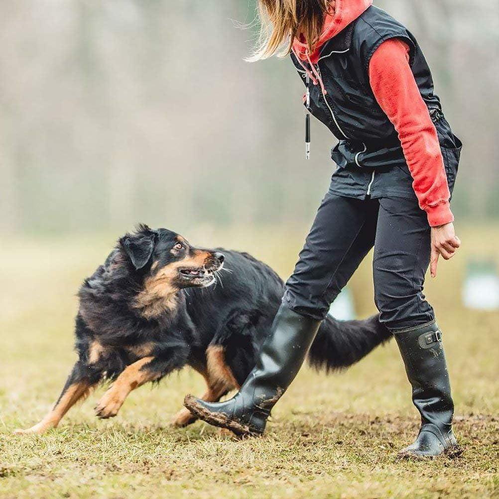 Tiamu Hunde Pfeife,Professionelle Hunde Training Pfeife,Um das Bellen zu Stoppen Einstellbare Frequenz Ultraschall Training Ger?t Stille Bellen Kontrolle