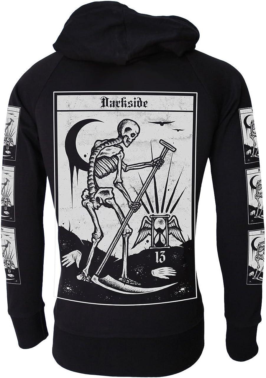 Darkside Clothing Sweat à Capuche Homme: