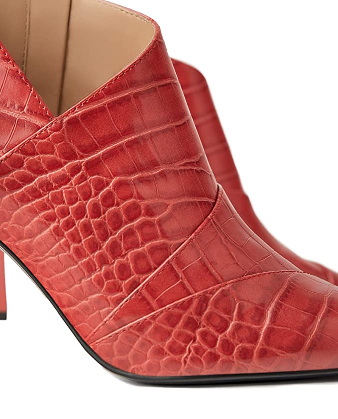 1527fa58764f3 Amazon.com: Zara Women Animal print high heel ankle boots 3123/001 ...