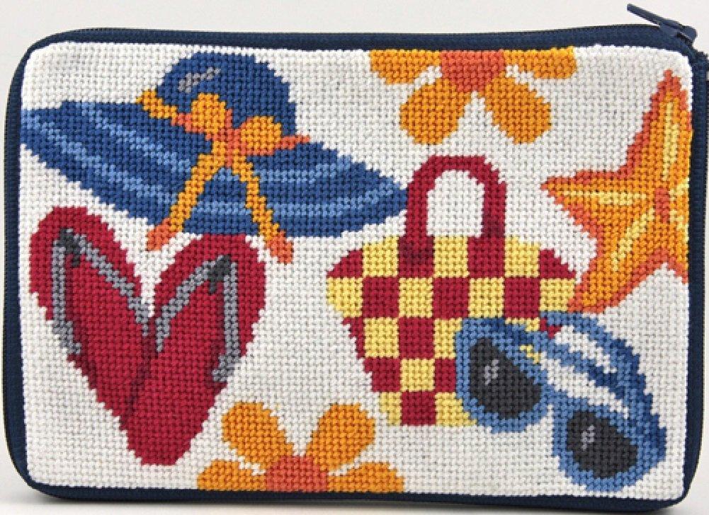 Stitch & Zip Punto de y Cierre de Cremallera Monedero ...