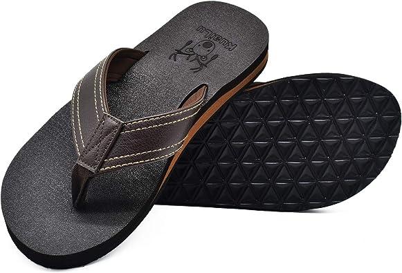 KuaiLu Flip Flops, Men's Flat Soft