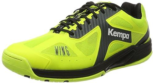 Kempa Wing Lite Caution, Zapatillas de Balonmano para Hombre: Amazon.es: Zapatos y complementos