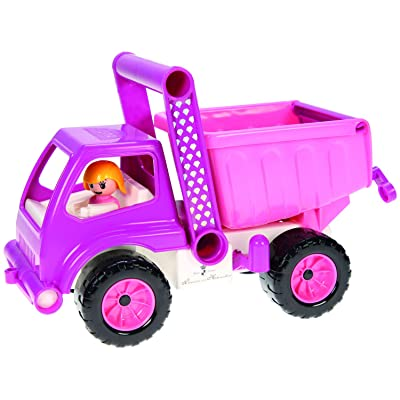 Lena Eco Active Princess Pink Dump Truck is a Eco friendly BPA and Phthalates Free Environment Friendly Biodegradable Green Toy Manufactured from Food grade Resin and Wood: Clothing