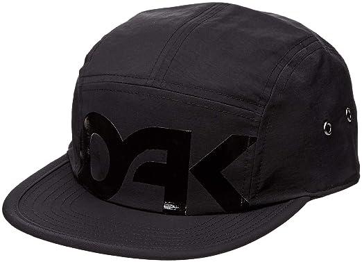7bac47e9 Oakley Men's Mark II 5 Panel Adjustable Hats, One Size, Blackout at ...