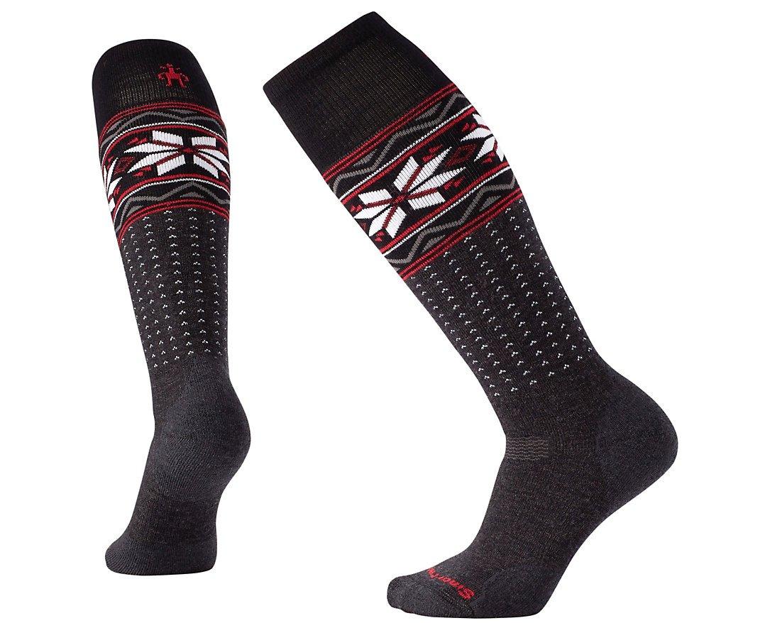 SmartWool Women's PhD Slopestyle Medium Wenke Socks (Charcoal) Medium