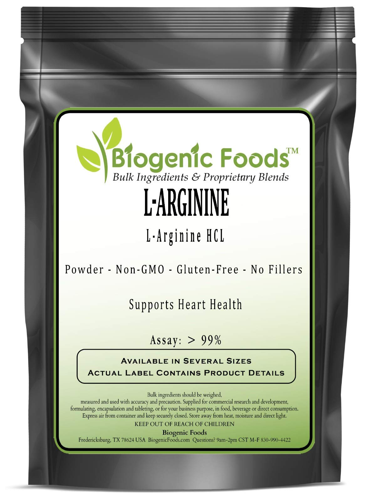 Arginine (L) - L-Arginine HCL Amino Acid Powder (Assay: > 99%), 25 kg